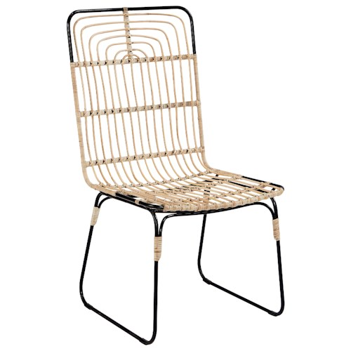 Magnolia Home by Joanna Gaines Boho Entwine Rattan Side Chair