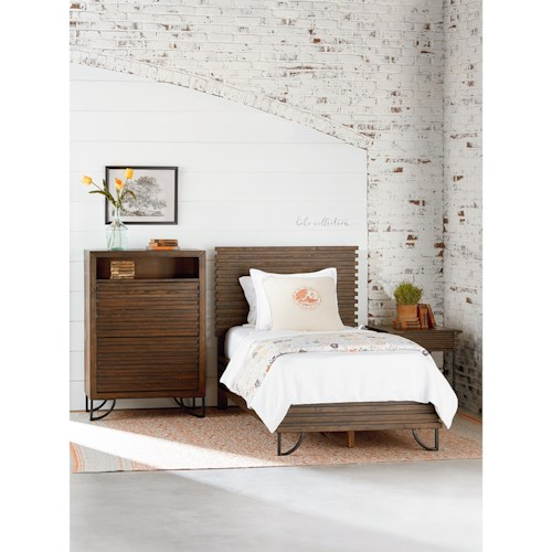 Magnolia Home by Joanna Gaines Boho Twin Youth Bedroom Group