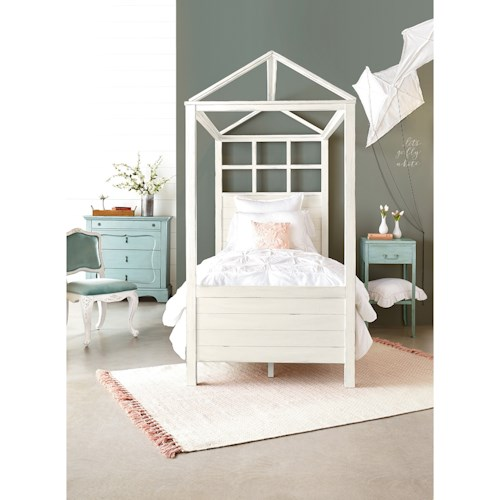 Magnolia Home by Joanna Gaines Boho Playhouse Twin Bedroom Group