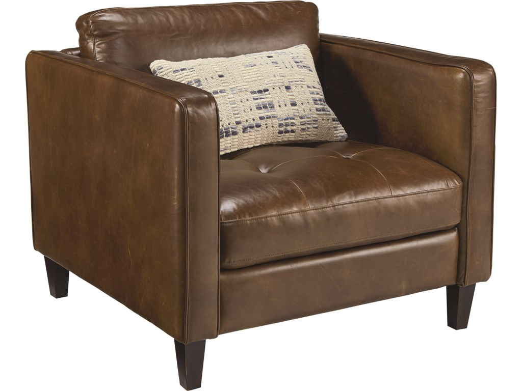 Magnolia Home by Joanna Gaines Dapper Upholstered Chair and – Upholstered Chair with Ottoman