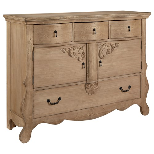 Magnolia Home by Joanna Gaines Traditional Golden Era Sideboard Chest