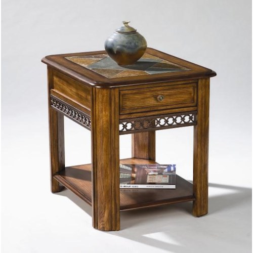 Magnussen Home Madison  Rectangular End Table