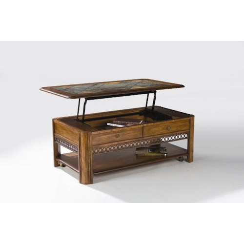 Magnussen Home Madison  Rectangular Lift-Top Cocktail Table