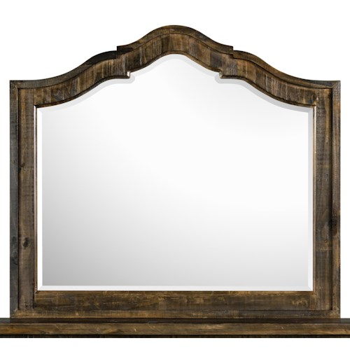 Magnussen Home  Brenley Mirror with Solid Pine Frame