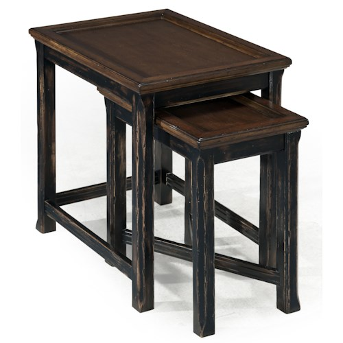 Magnussen Home  Clanton Rectangular Bunching End Table