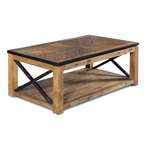 Magnussen Home  Penderton Rectangular Lift-top  Cocktail Table
