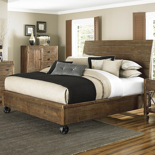 Magnussen Home  River Ridge Queen Headboard and Footboard Panel Bed