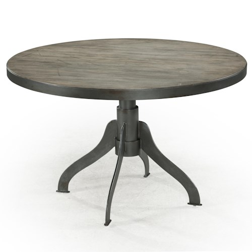 Magnussen Home  Walton Rustic Casual Dining Table with Natural Finish