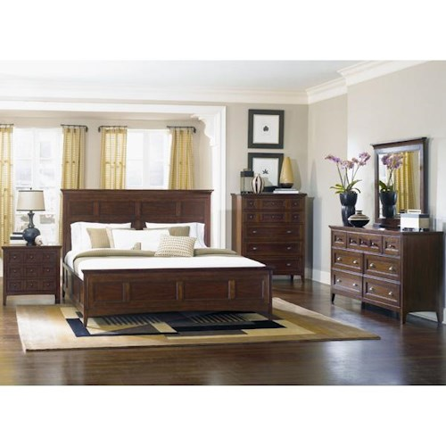 Magnussen Home Hanover 4 Piece Queen Storage Bedroom Set