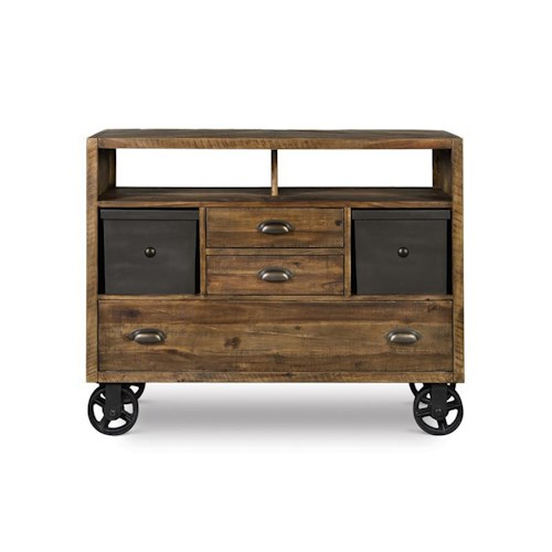Morris Home Furnishings Barrington Media Chest