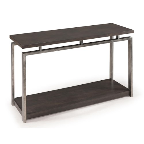 Magnussen Home Alton Contemporary Rectangular Sofa Table