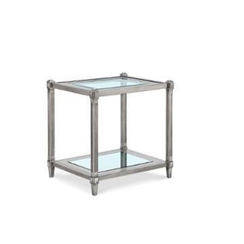 Morris Home Furnishings Chartres Square End Table