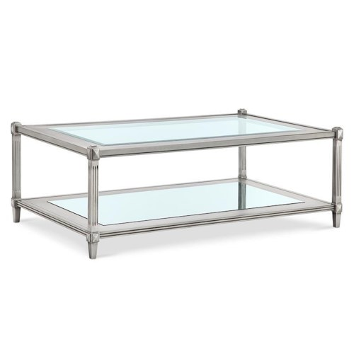 Morris Home Furnishings Chartres Rectangular Cocktail Table