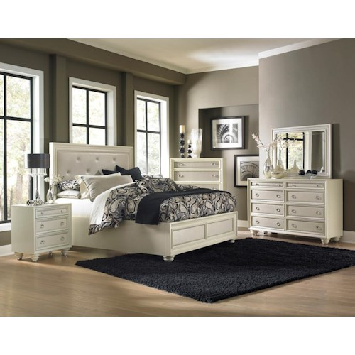 Magnussen Home Amelia 4-Piece Queen Bedroom Set