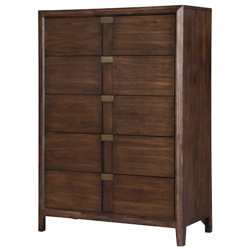 Belfort Select Echo Chest of Drawers with Felt Lined Top Drawer