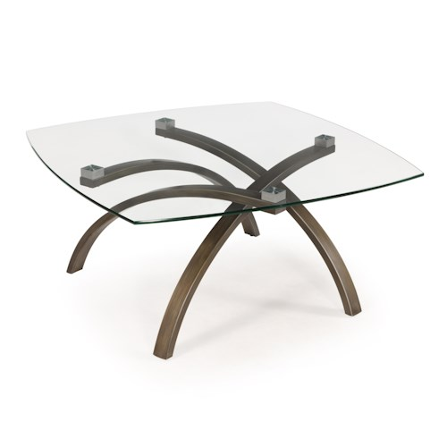 Belfort Select Frisco Contemporary Square Cocktail Table