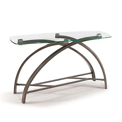 Magnussen Home Frisco Contemporary Rectangular Sofa Table