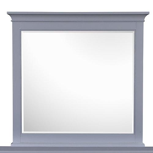 Magnussen Home Mason Vintage Gray Dresser Mirror