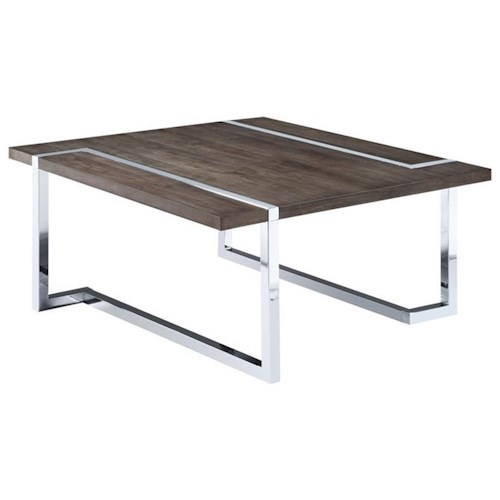 Magnussen Home Kieran T4215 Square Cocktail Table