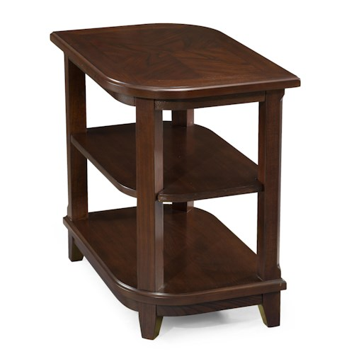 Magnussen Home Madera Teardrop Chair Side Table