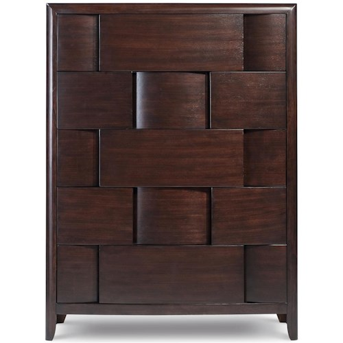 Magnussen Home Nova Chest With 5 Drawers