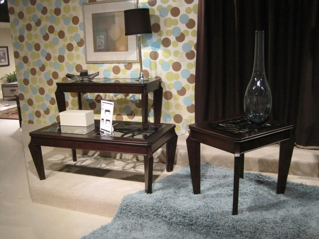 Shown with Rectangular Cocktail Table and Rectangular End Table