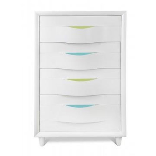 Morris Home Furnishings Rainbow City Chest of Drawers