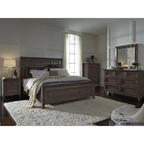 Belfort Select Talbot King Bedroom Group