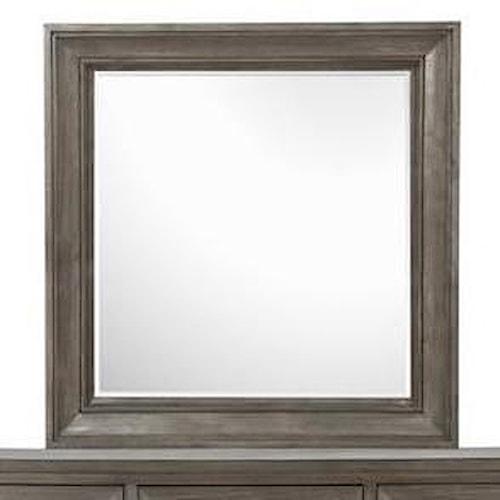 Belfort Select Talbot Portrait Concave Framed Mirror