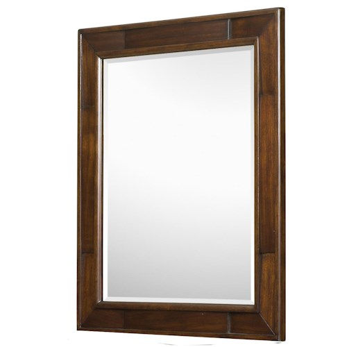 Belfort Select Youth Twilight  Framed Beveled-Glass Potrait Mirror