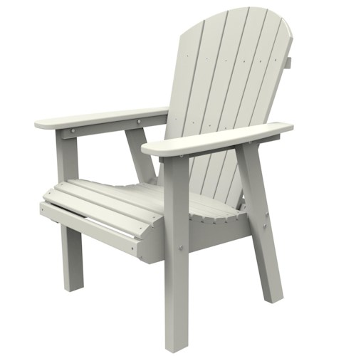 Malibu Outdoor Living Malibu Outdoor Furniture Hyannis Adirondack Style Dining Chair