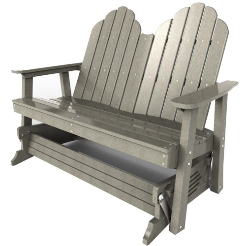 Malibu Outdoor Living Malibu Outdoor Furniture Yarmouth Double Glider Chair