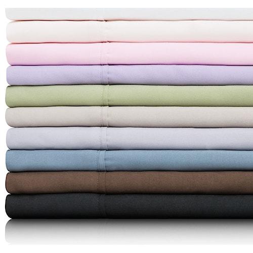 Malouf Brushed Microfiber King Woven™ Brushed Microfiber Pillowcases