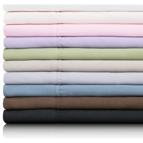 Malouf Brushed Microfiber Queen Woven™ Brushed Microfiber Short Sheet Set