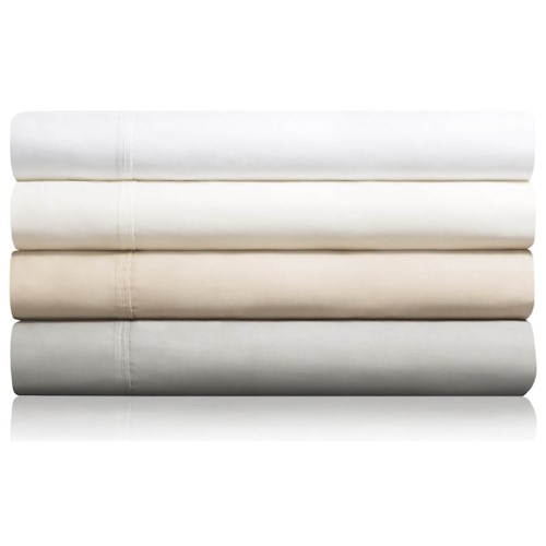 Malouf Cotton Blend Twin 600 TC Cotton Blend Sheet Set