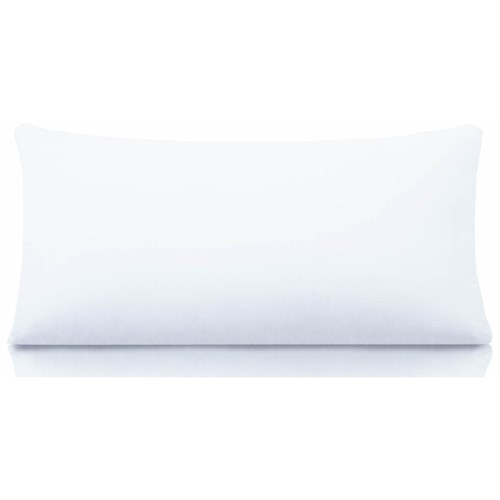 Malouf Cotton Encased Down Standard Cotton Encased Down Blend Pillow