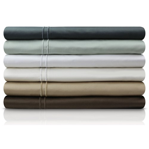 Malouf Egyptian Cotton Twin 400 TC Egyptian Cotton Sheet Set