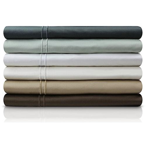 Malouf Egyptian Cotton Split Cal King 600 TC Egyptian Cotton Sheet Set