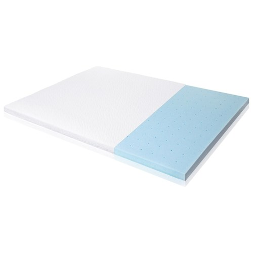 Malouf Gel Memory Foam Twin 2.5