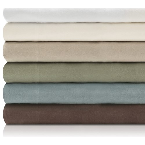 Malouf Portuguese Flannel King Woven™ Portuguese Flannel Pillowcases