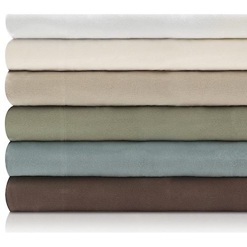 Malouf Portuguese Flannel Split King Woven™ Portuguese Flannel Sheet Set
