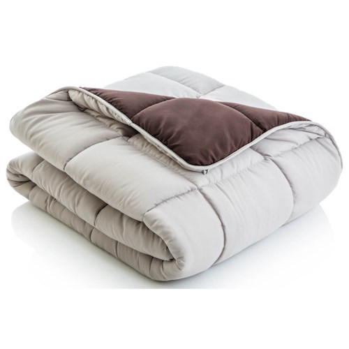 Malouf Reversible Bed in a Bag Split Cal King Reversible Bed in a Bag