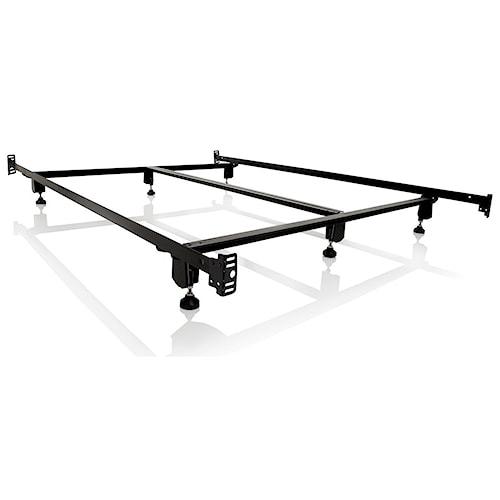Malouf Steelock Twin Steelock Bolt-On Headboard Footboard Bed Frame