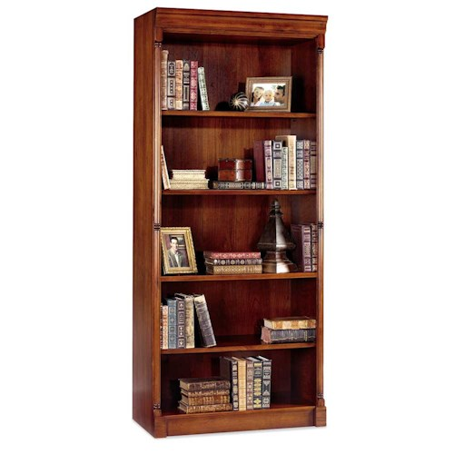 kathy ireland Home by Martin Mount View Open Bookcase Five Shelves