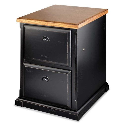 kathy ireland Home by Martin Southampton Two Drawer File Cabinet with Top Locking Drawer