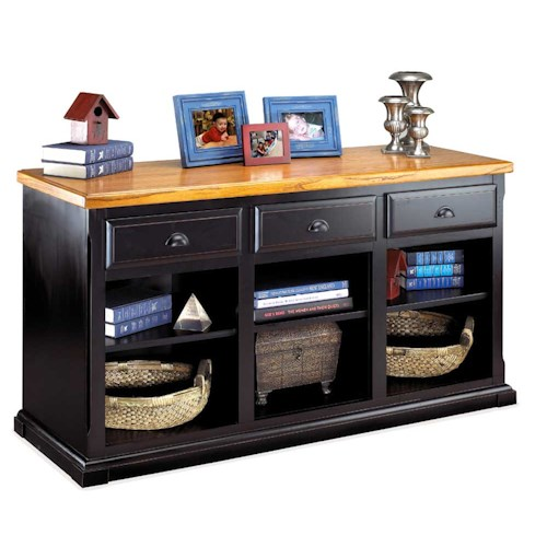 kathy ireland Home by Martin Southampton Three Drawer Console