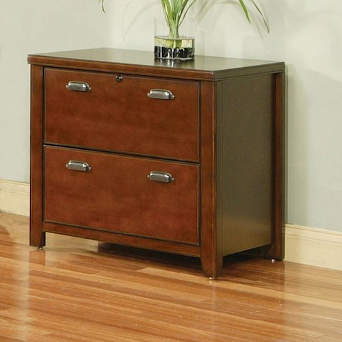 kathy ireland Home by Martin Tribeca Loft Two Drawer Lateral File