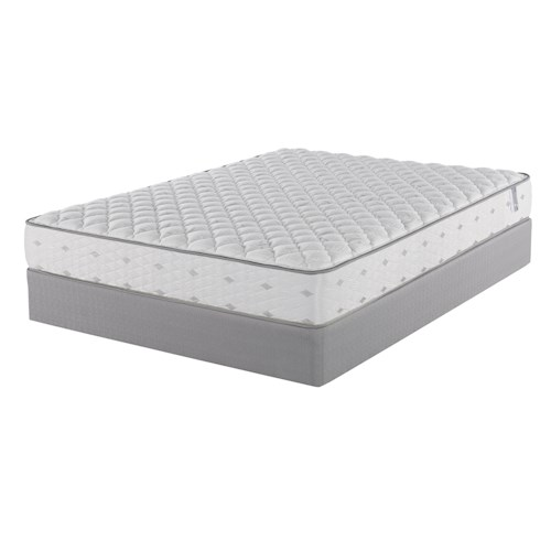 Belfort Mattress Cecilia Cal King Firm Mattress and 9