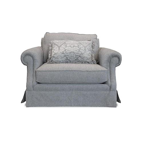 Mayo 2600 Smoke Skirted Chair