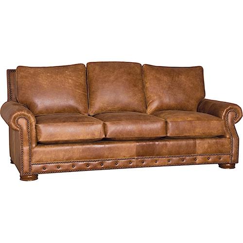 Mayo 290 Traditional Sofa with Low Bun Feet